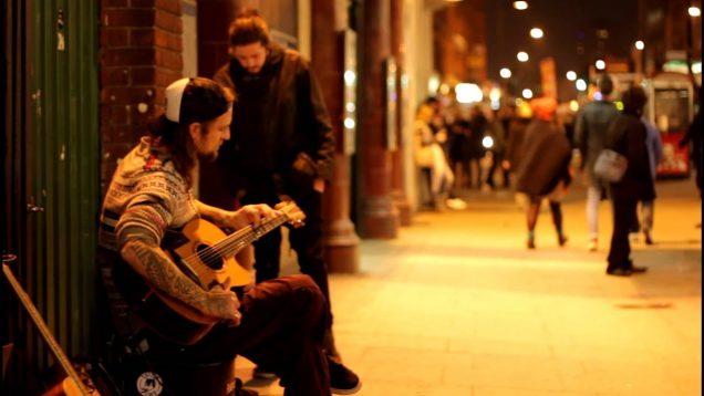 Guitar Street Performer – Warren Cahill Camden