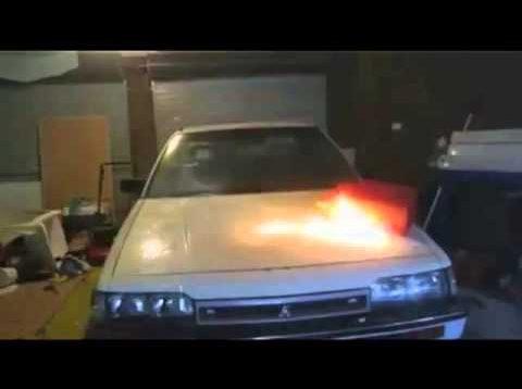 Harlem Shake Gas Can Explosion