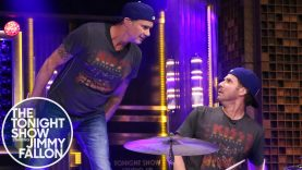 It's A Drum Off! Will Ferrell and Chad Smith Drum-Off on The Tonight Show with Jimmy Fallon