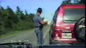 Maine State Trooper – $137 speeding ticket