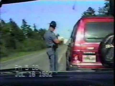 Maine State Trooper – $137 speeding ticket
