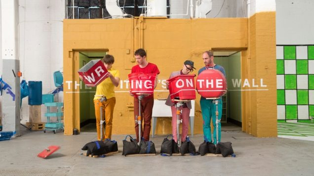 OK Go – The Writing's On the Wall