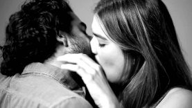 Strangers Kiss Each Other