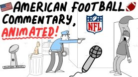 merican Football Commentary, Animated!